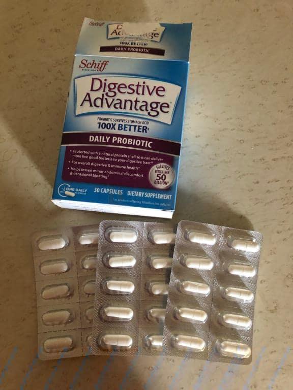 digestive advantage side effects