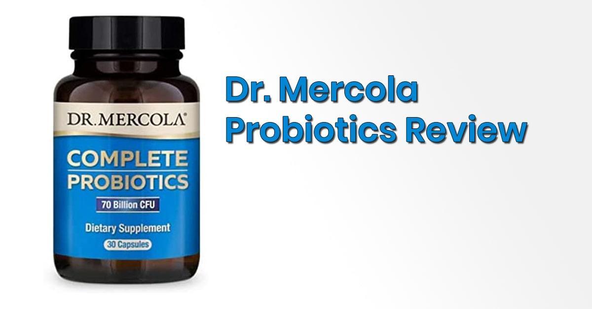 Dr Mercola Probiotics Review 1 Month Results