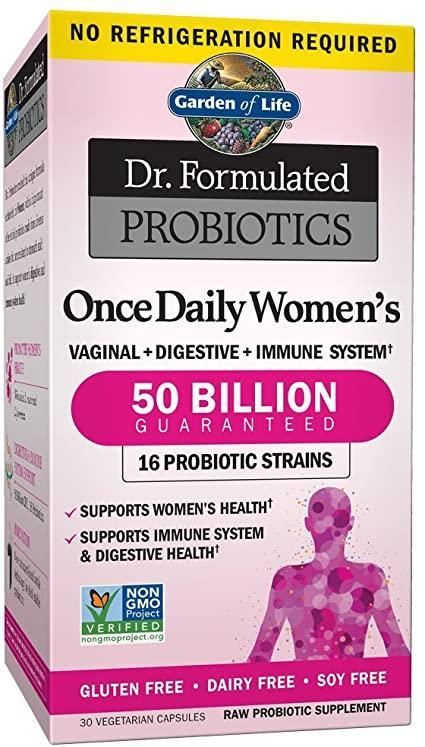 garden of life women's probiotic review