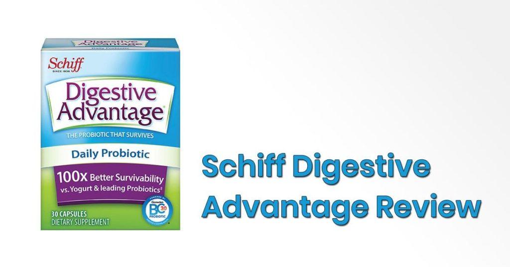 schiff digestive advantage reviews