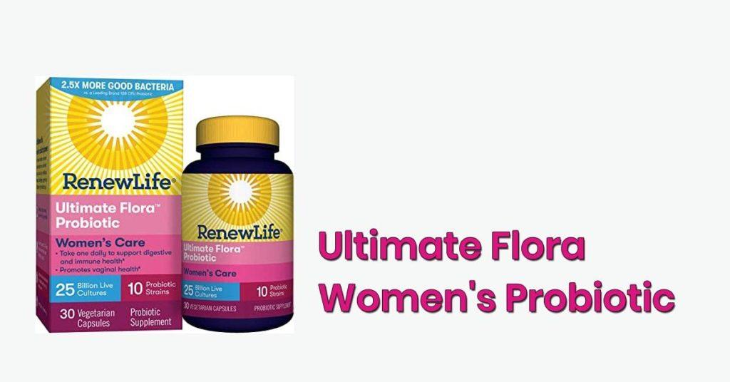 ultimate flora women's probiotic review